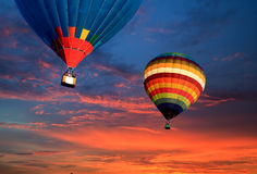 Balloon travel Royalty Free Stock Photography