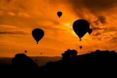 Balloon. Turkey 2017 air hot Royalty Free Stock Photos