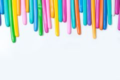 Balloon twisting on white background with copy space for your te Stock Images