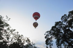 Balloon up in the sky Stock Photography