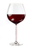 Balloon wineglass for rich red wines Royalty Free Stock Photos