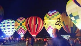 BalloonGlow imagem de stock