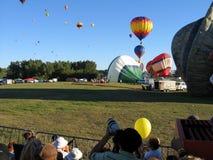 Ballooning em Gatineau Canadá, America do Norte fotografia de stock