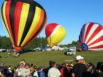 Ballooning in Gatineau Canada, Noord-Amerika stock foto's