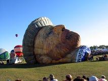 Ballooning in Gatineau Canada, Noord-Amerika royalty-vrije stock afbeelding