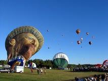 Ballooning in Gatineau. Canada, north America. Ballooning in Gatineau. Canada north America stock images
