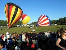 Ballooning in Gatineau. Canada, north America. Ballooning in Gatineau. Canada north America stock photography