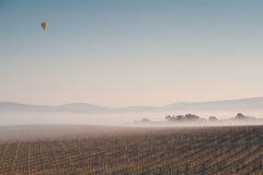 Ballooning in the Morning Stock Photos