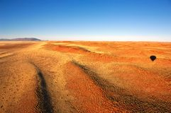 Ballooning (Namibia) Stock Images