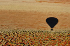Ballooning (Namibia) Royalty Free Stock Photos