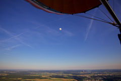 Ballooning Over Luxembourg Stock Images
