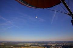 Ballooning over Luxemburg Stock Afbeeldingen