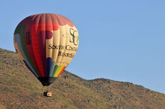 Ballooning in Temecula Royalty-vrije Stock Afbeelding