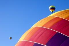 Ballooning in Vallei Napa Royalty-vrije Stock Afbeeldingen