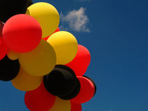 Balloons. In the national colors of Germany Stock Photography