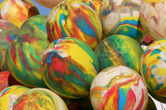 Balloons. A lot of colorful balloons Stock Image