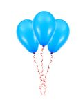 Balloons. Isolated against a white background Stock Images