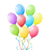 Balloons. stock illustration