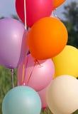 Balloons. For birthday royalty free stock photo