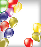 Balloons. Vector illustration of colorful balloons Stock Images