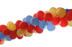 Balloons. Decorative set of multicolor balloons stock photos