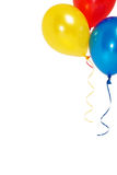 Balloons. Colorful balloons on a white background Stock Photo