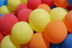 Balloons stock image