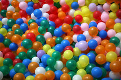 Balloons. A lot of colorful balloons Stock Images
