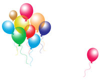 Balloons royalty free illustration