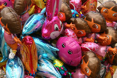 Balloons. Bunch of colorful balloons Royalty Free Stock Photo