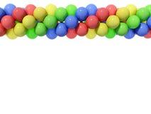 Balloons. Isolated on white background Stock Photos