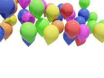 Balloons. Isolated on white background Stock Photo