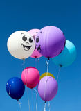 Balloons against blue sky Royalty Free Stock Photo