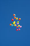 Balloons in the air Royalty Free Stock Photography