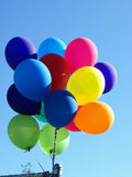 Balloons in the air Royalty Free Stock Image