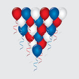 Balloons air design Royalty Free Stock Photo