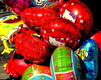 Balloons. Annual humorous show in Odessa. This photo is perfect for use in advertising purposes, as well as simply as a background for your desktop desktop Royalty Free Stock Photography