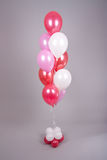 Balloons arrangement Stock Image