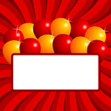 Balloons background Stock Image