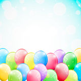 Balloons background Royalty Free Stock Photography