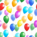 balloons background royalty free illustration
