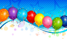 Balloons background Royalty Free Stock Photo