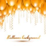 Balloons background Royalty Free Stock Photo