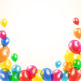 Balloons background Royalty Free Stock Images