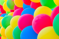 Balloons background. Photo of colorful balloons background Stock Photography