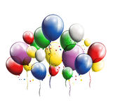 Balloons background for you design Royalty Free Stock Image