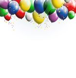 Balloons background for you design Stock Photography