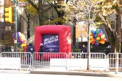 Thanksgiving Day Parade Preparations Royalty Free Stock Image