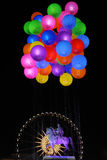 Balloons in Bellecour Stock Images