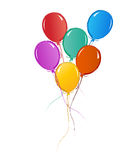 Balloons for birthday or celebration Stock Photography